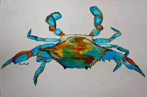bluegoldcrab
