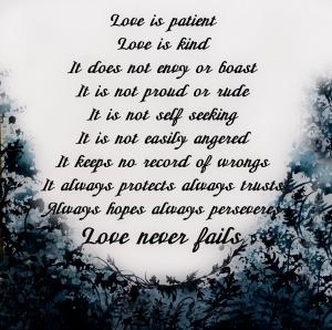 love never fails 2